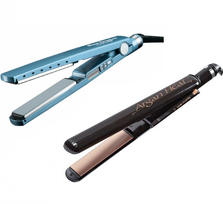 titanium, ceramic flat irons seem look the same, but how do they actually work on your hair