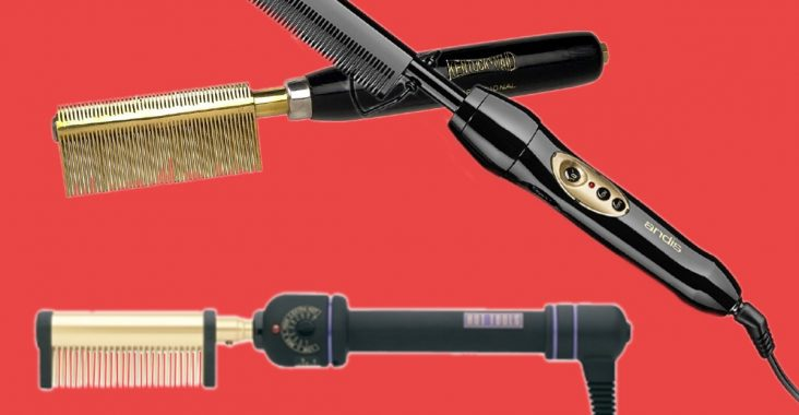 Hot combs come in cordless heat stove burner or wired electric
