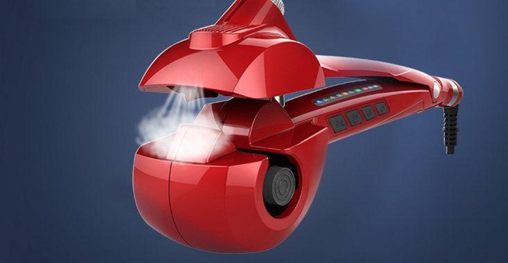 Electric Steam Hair Curler