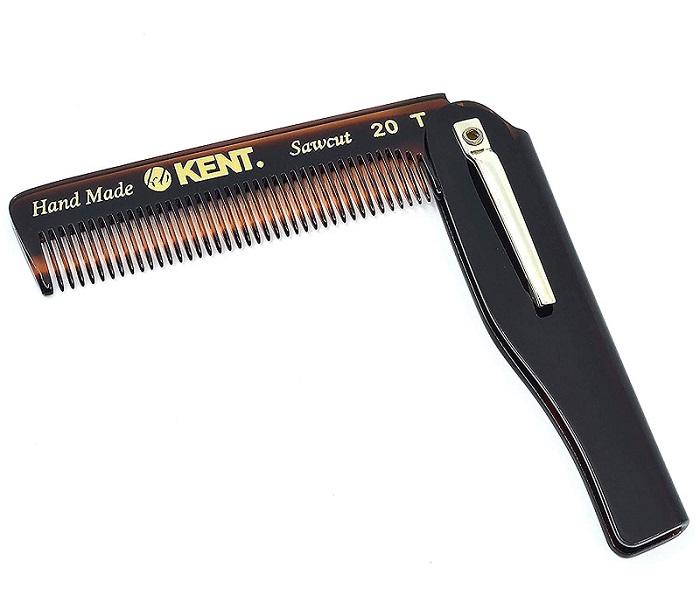 Kent Tooth Tortoiseshell Folding Beard Straightener