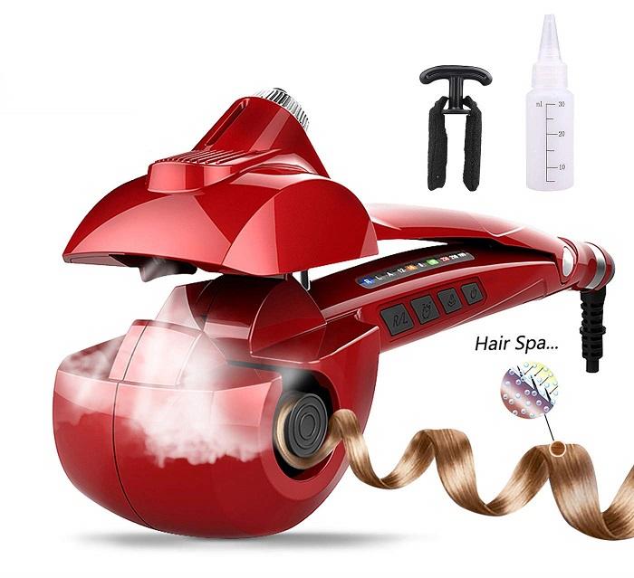 MENQANG Automatic Hair Steam Curler