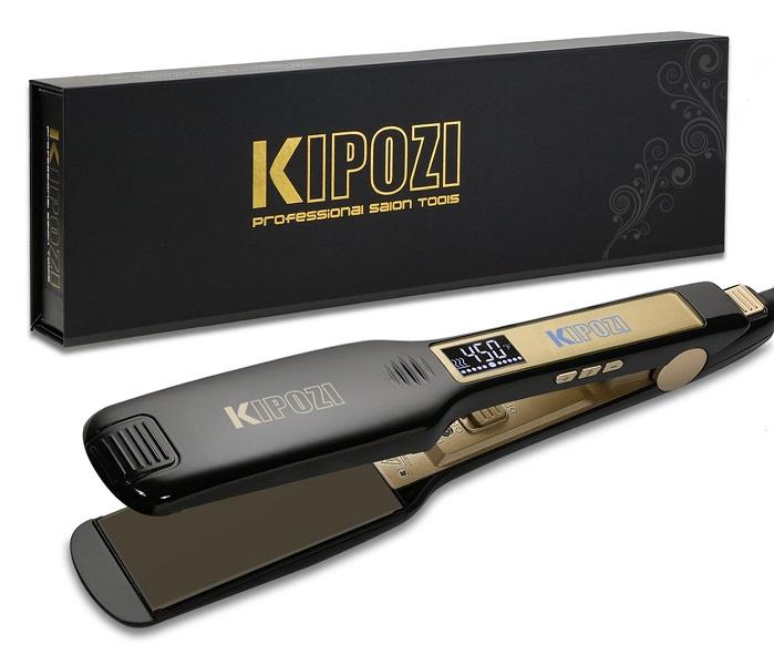 Kipozi Professional Titanium Hair Straightener