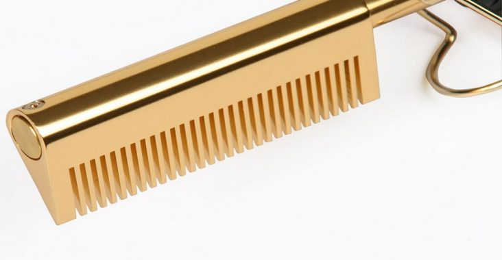 how to clean hot comb