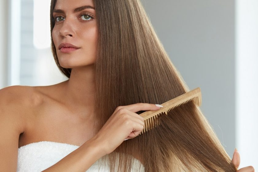 wooden comb for hair growth