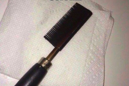 hot comb needs cleaning