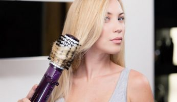 steps to use hot curling brush