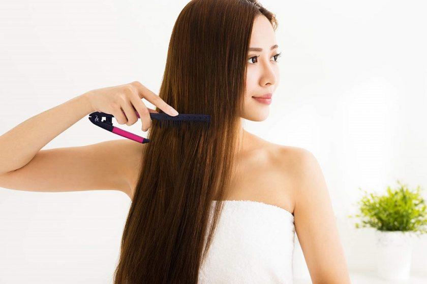 hair straightening comb