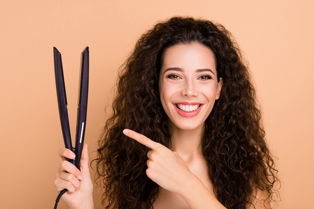 Flat Iron for Curly Hair