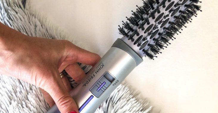 John Frieda Hot Air Brush Riview