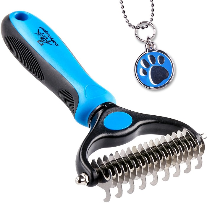Pat Your Pet 2 Sided Undercoat Rake