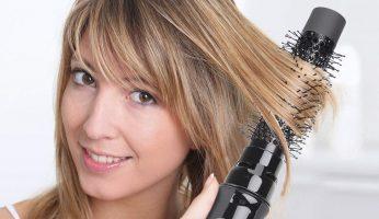 best round brush for straightening hair