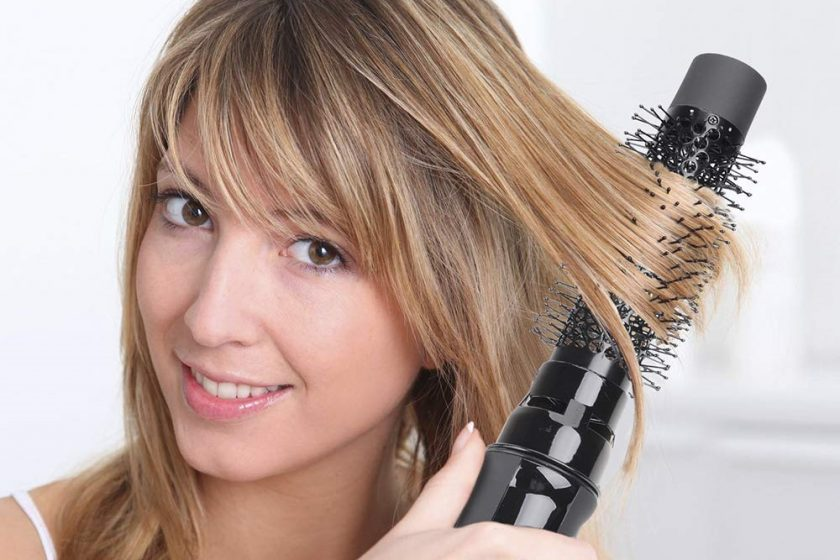 best round brush for straightening hair