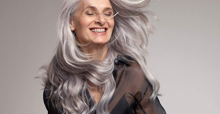 frizzy gray hair products