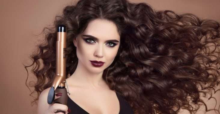 best curling iron for long thick hair