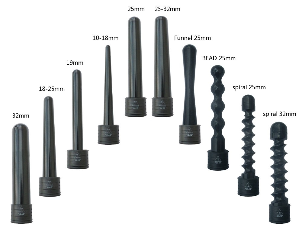 Curling Iron Size Guide