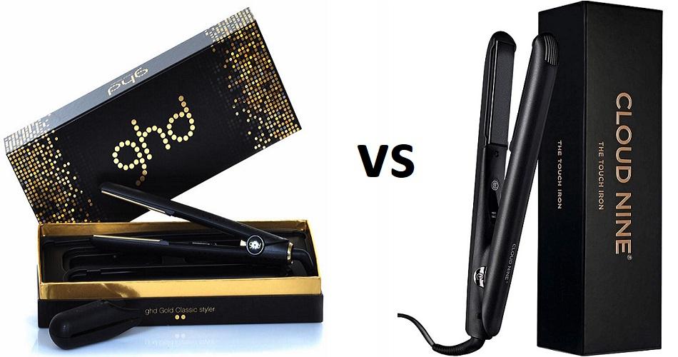 GHD Hair Straightener vs. Cloud Nine Hair Straightener