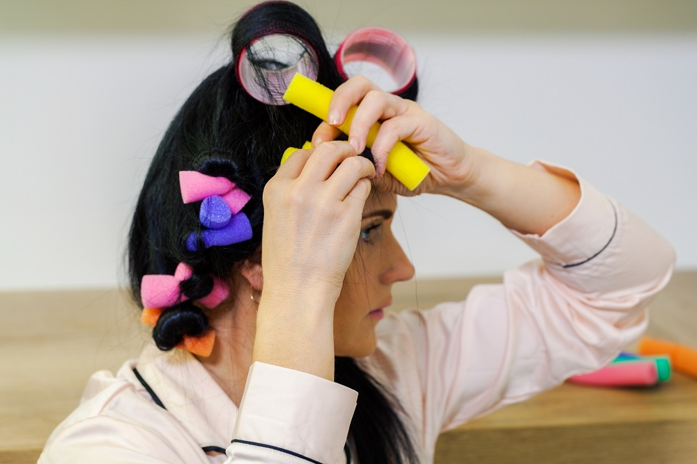 How to Curl Hair Using Hair Rollers