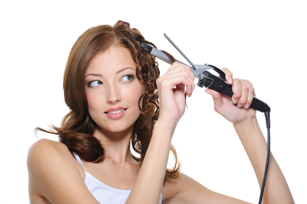 Prepare Hair to Curl with Curling Iron