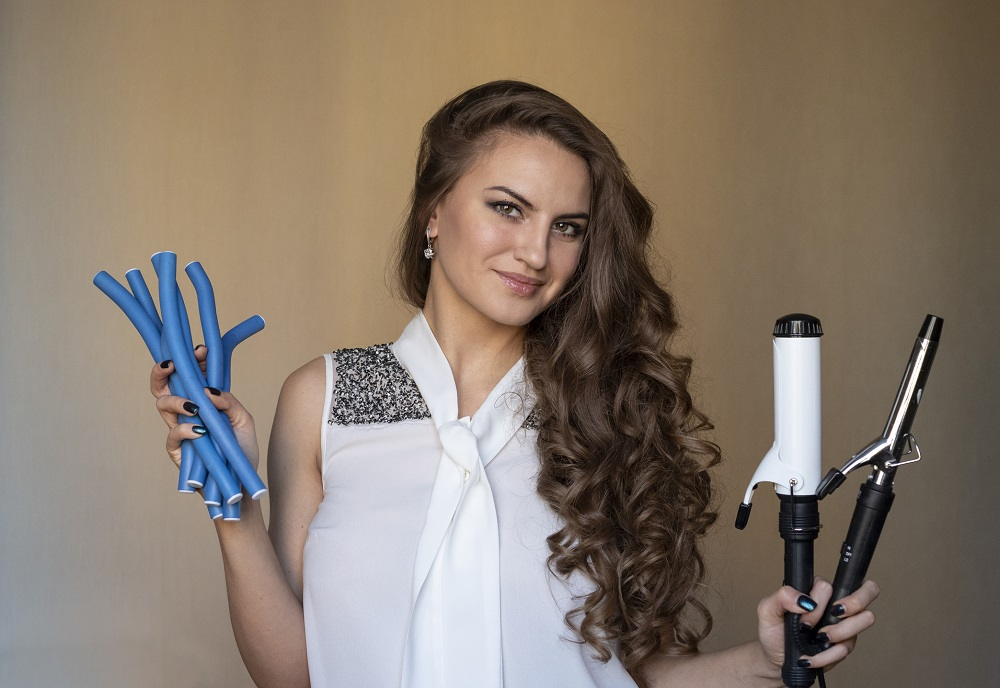 Rollers Vs. Curling Irons