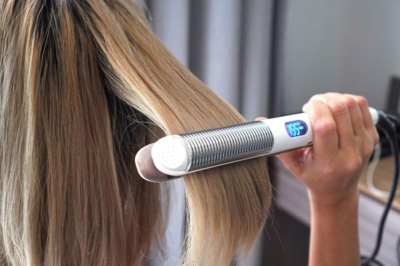 hair straightener flat iron temperature