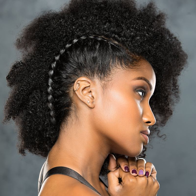 braids for thick curly hair