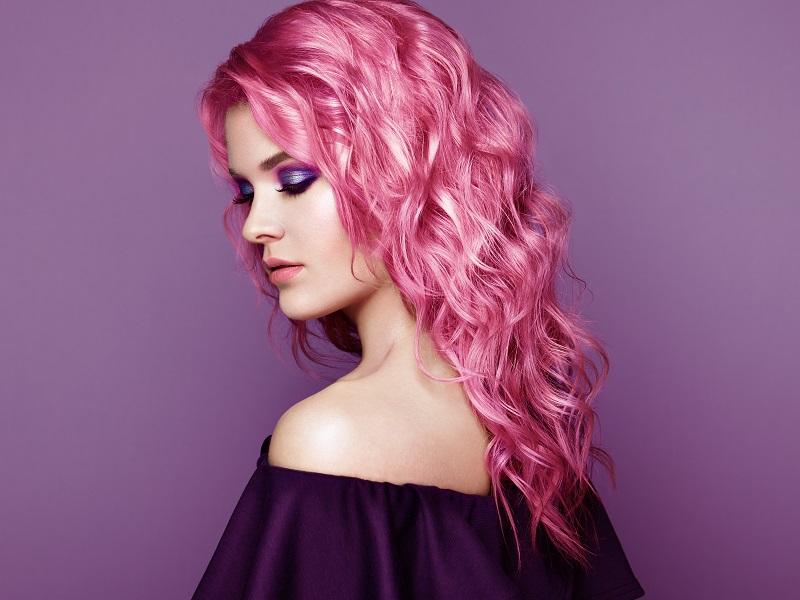 curly hair perm