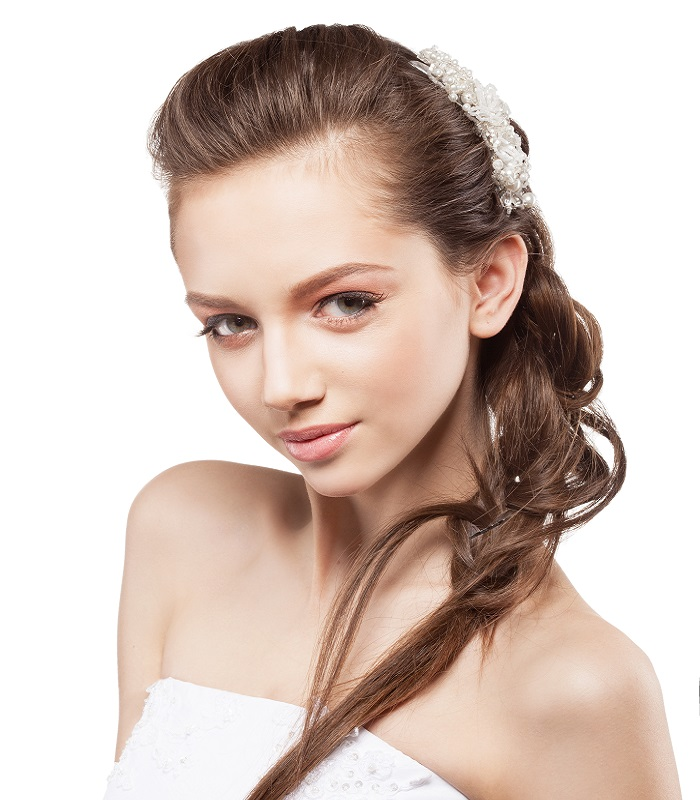 wedding hairstyle for fine hair