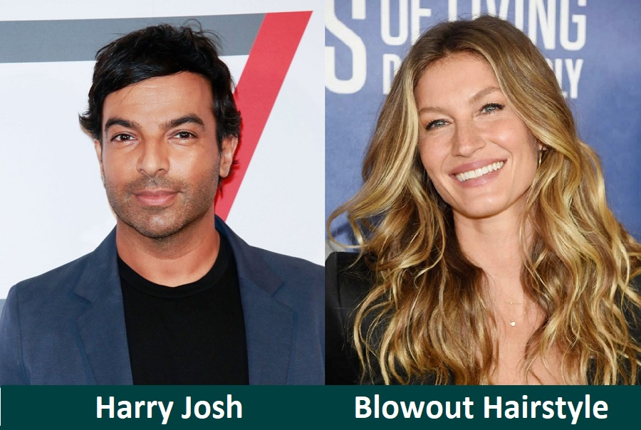 Blowout Hairstyle by Hairstylist Harry Josh