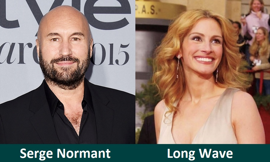 Long Wave by Hairstylist Serge Normant