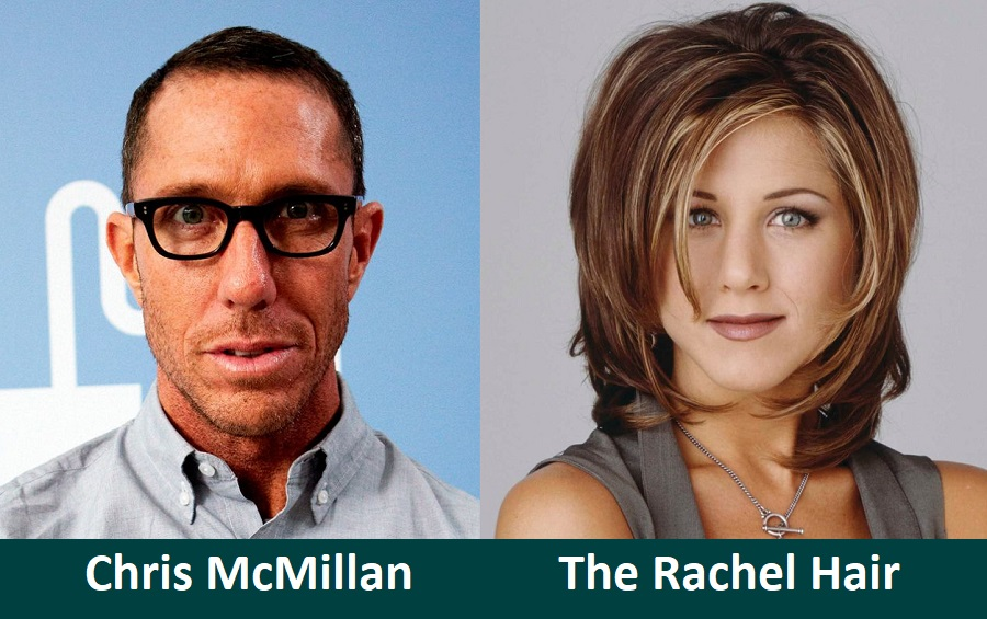 The Rachel Hair by Hairstylist Chris McMillan