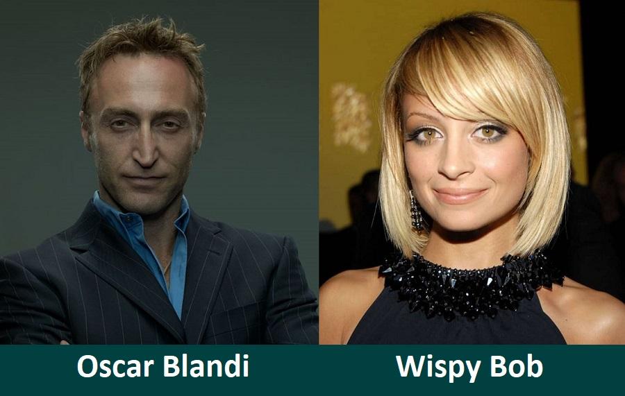 Wispy Bob by Hairstylist Oscar Blandi