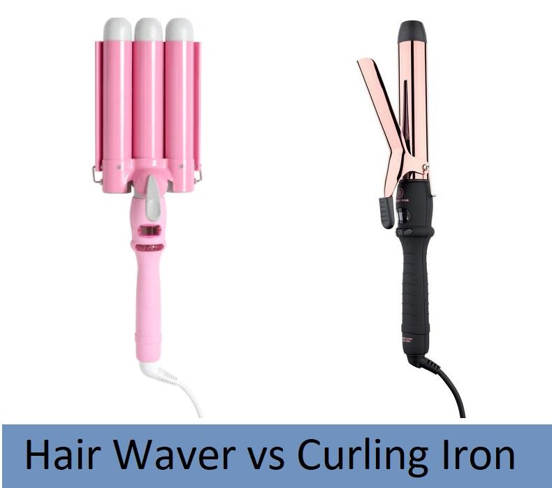 Hair Waver vs Curling Iron