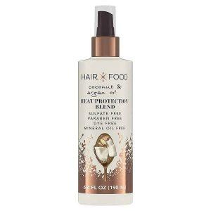 hair food heat protectant blend