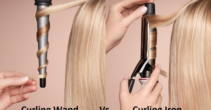 Difference Between Curling Wand and Curling Iron