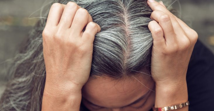 can you stop hair from turning gray