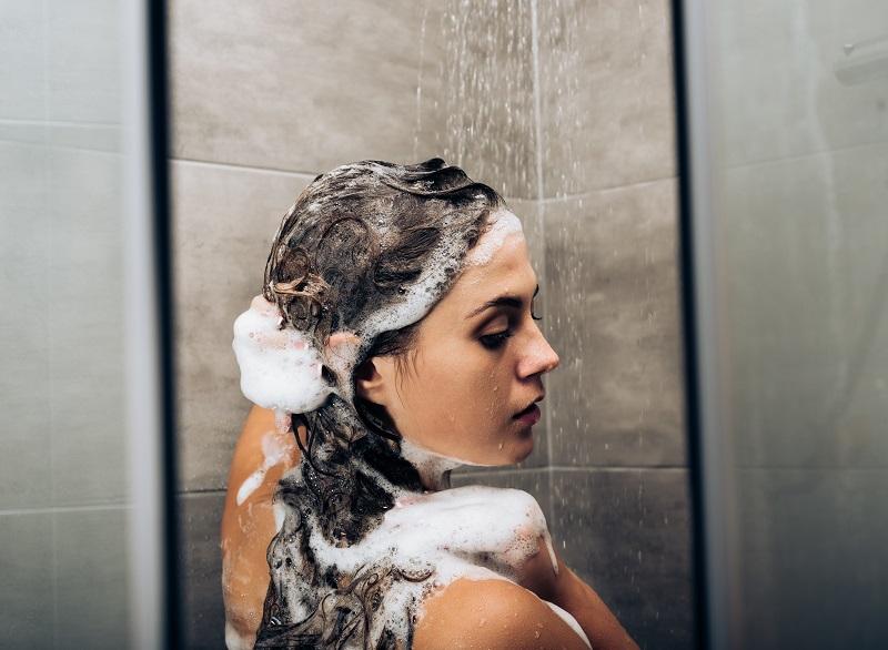 washing bad perm hair